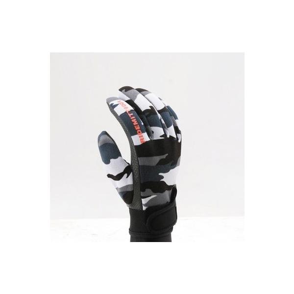 【セール特価】RIDEMITT(ライドミット)001 ネオプレングローブ シャークスキン グレーカムフラージュ LLサイズ DAYTONA(デイトナ)|zerocustom