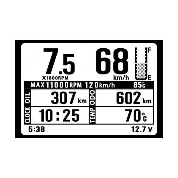 シグナスX SR(SED8J)BF91〜BF94 スーパーマルチLCDメーター(シグナスX SR用) SP武川(TAKEGAWA) zerocustom 03