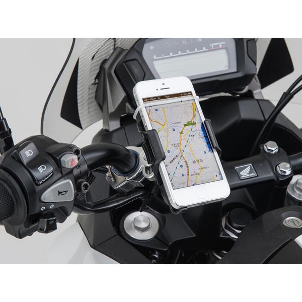 バイク用スマートフォンホルダー iphone5用クイックタイプ(工具なし簡単脱着タイプ) DAYTONA(デイトナ) zerocustom