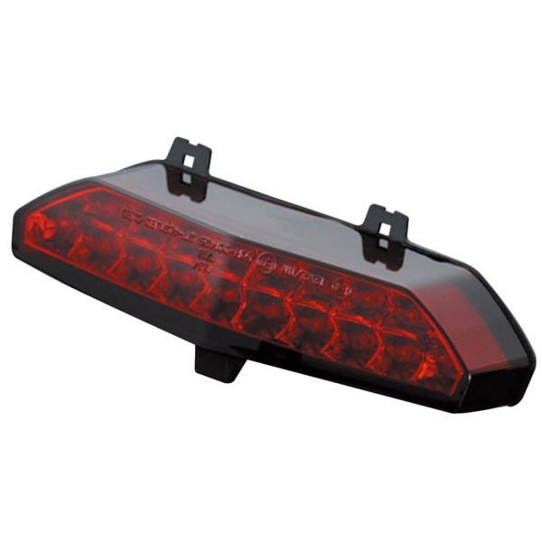 ZRX1200 DAEG(ダエグ) LEDテールランプユニット ダークレッド POSH(ポッシュ)