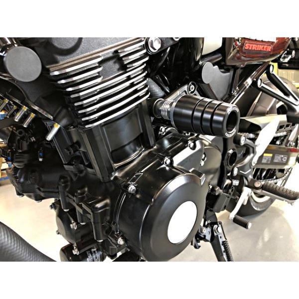 0516dcb5c0 Z900RS 17年 ガードスライダー オールブラック STRIKER(ストライカー ...