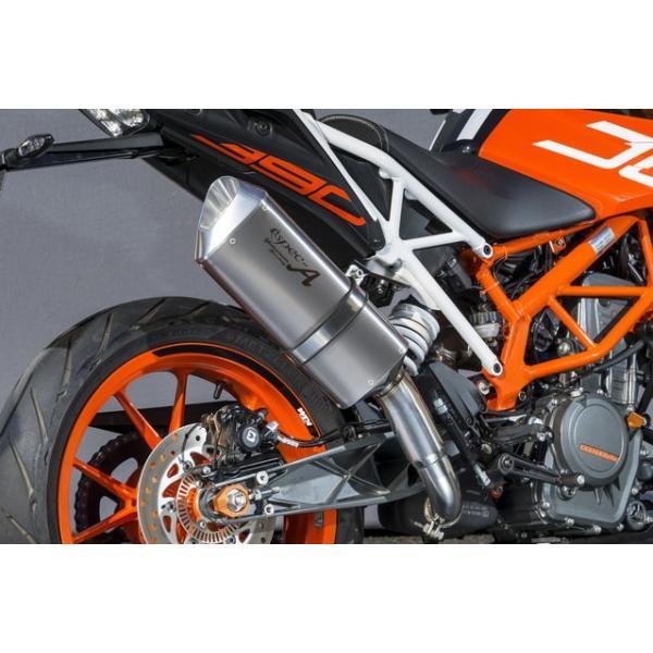 KTM 390DUKE(17年) スリップオンマフラー UP-TYPE TYPE-SA JMCA認証 YAMAMOTO RACING(ヤマモトレーシング)|zerocustom