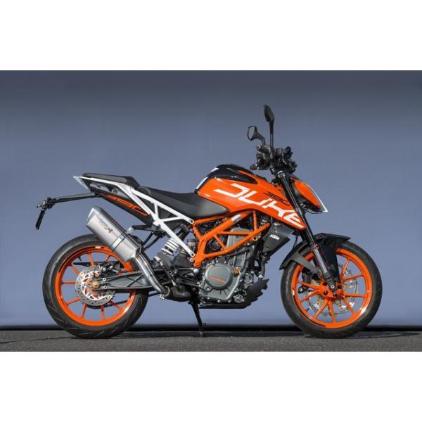 KTM 390DUKE(17年) スリップオンマフラー UP-TYPE TYPE-SA JMCA認証 YAMAMOTO RACING(ヤマモトレーシング)|zerocustom|02