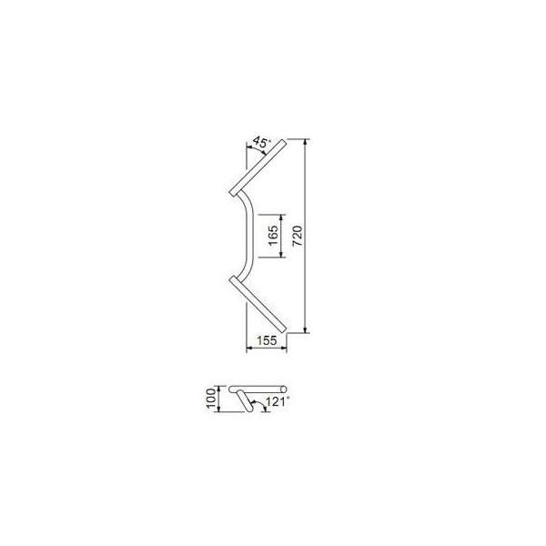ドラッグコンドルハンドル φ1インチ ドラッグスター400(DRAGSTAR) HURRICANE(ハリケーン)|zerocustom|02