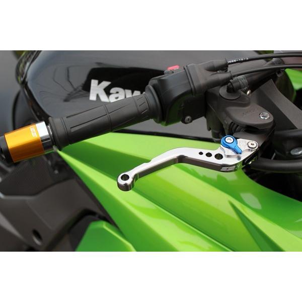 KTM 125DUKE ショートアジャストレバーセット レバー:チタン  SSK(エスエスケー) zerocustom 03