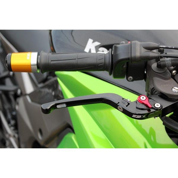 KTM 125DUKE 可倒式アジャストレバーセット 3D レバー:チタン  SSK(エスエスケー)|zerocustom|02