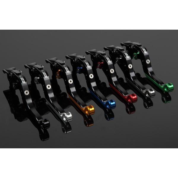 KTM 125DUKE 可倒延長式アジャストレバーセット レバー:ブラック アジャスター:ゴールド SSK(エスエスケー)|zerocustom|06