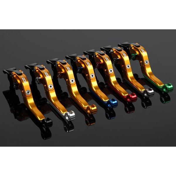 KTM 125DUKE 可倒延長式アジャストレバーセット レバー:ゴールド アジャスター:チタン SSK(エスエスケー)|zerocustom|06