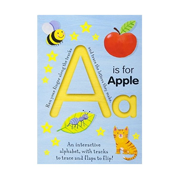 A Is for Apple (Smart Kids Trace-and-Flip) 新品 洋書|zeropartner