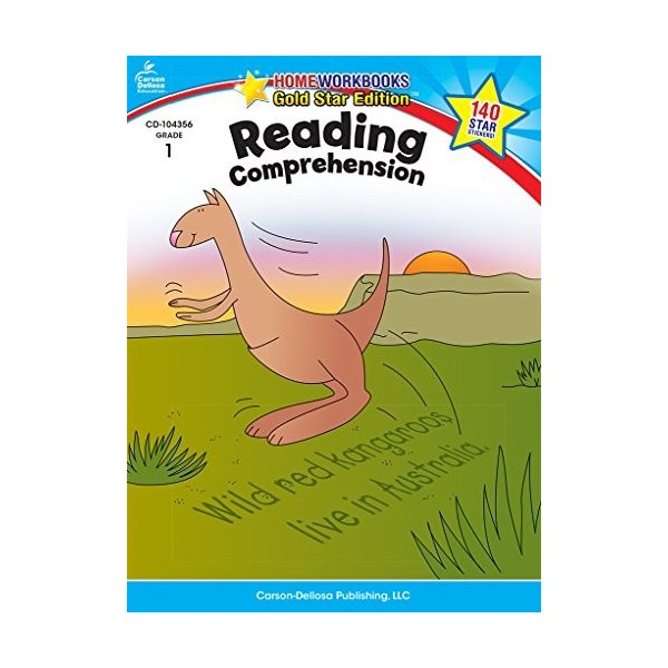 Reading Comprehension Grade 1 (Home Workbooks: Gold Star Edition) 新品 洋書|zeropartner