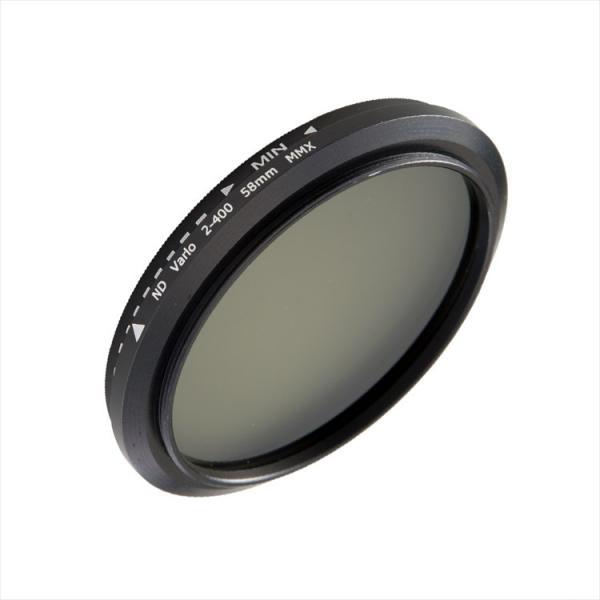 可変式 減光フィルター Fader ND フィルター Fader NDフィルター 58mm