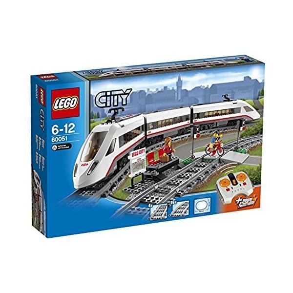 レゴ (LEGO) シティ ハイスピードパッセンジャートレイン 60051 新品|zerothree