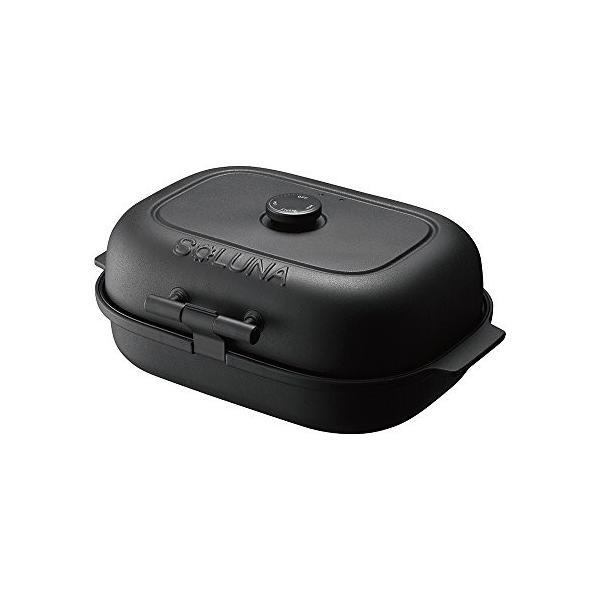 ドウシシャ 焼き芋メーカー ホットプレート 温度調節機能 付き 平面プレート 付き SOLUNA WFS-100|zerothree
