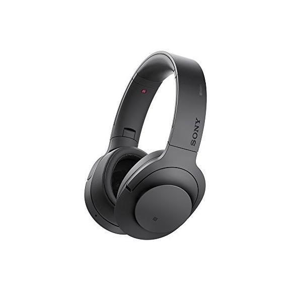 ソニー SONY ワイヤレスノイズキャンセリングヘッドホン Bluetooth/ハイレゾ対応 チャコールブラック MDR-100ABN B 中古 zerothree