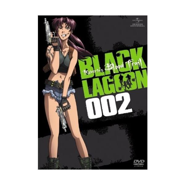 OVA BLACK LAGOON Roberta's Blood Trail 002 (DVD)|zerothree