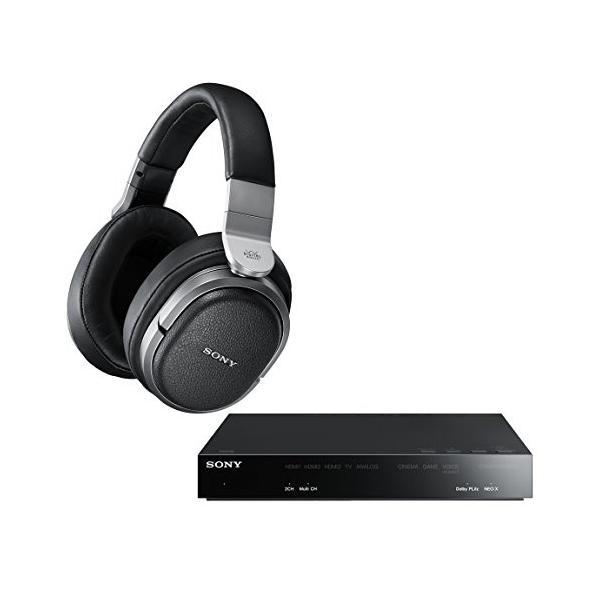 ソニー SONY 9.1ch デジタルサラウンドヘッドホンシステム 密閉型 MDR-HW700DS 中古|zerothree