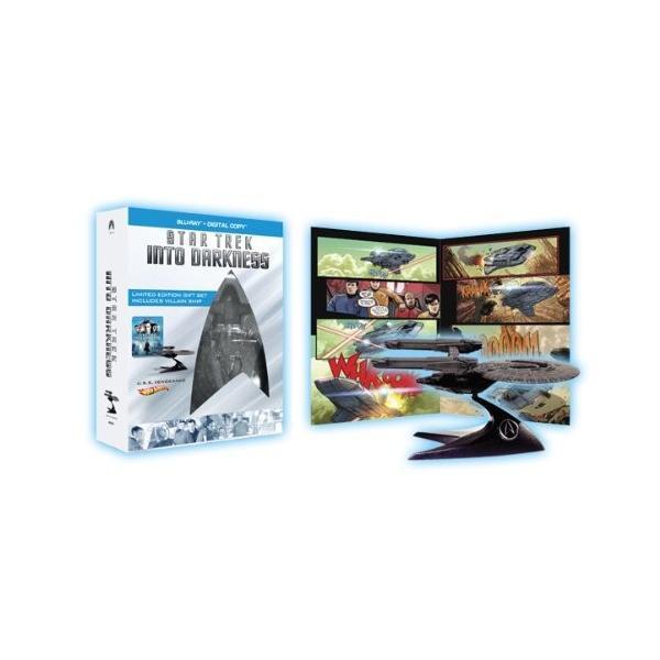 スター・トレック イントゥ・ダークネス U.S.S. VengeanceブルーレイBOX コミックブック付(1枚組)(数量限定生産) (Blu-ray)|zerothree
