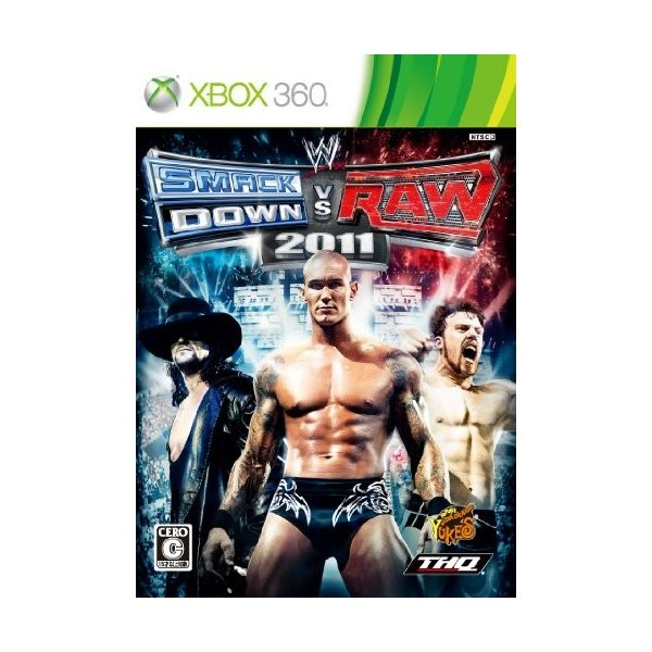 WWE SmackDown vs. Raw 2011 - Xbox360 綺麗め 中古|zerothree