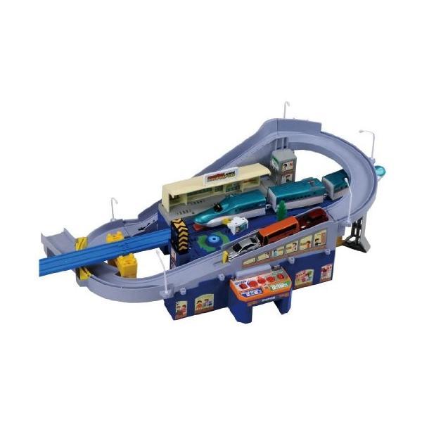 プラレール トミカと遊ぼう! スーパーオートステーション