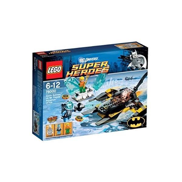 スーパーヒーローズ 76000 バットマン VS ミスター・フリーズ 氷上のアクアマン