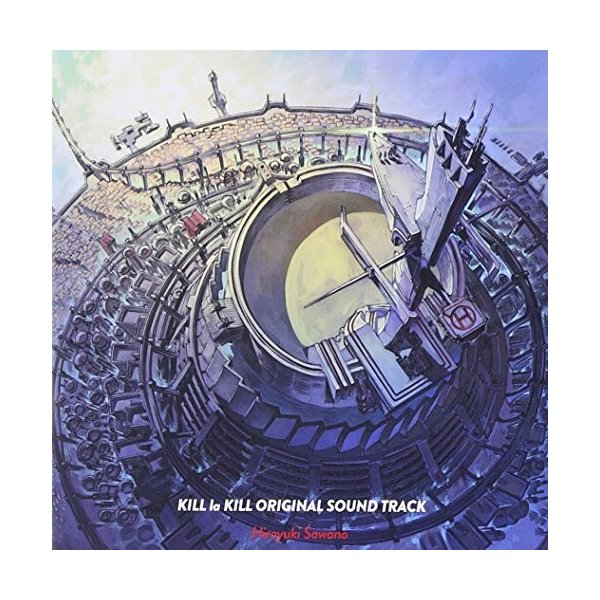 「キルラキル」オリジナルサウンドトラック 新品 zerotwo-men