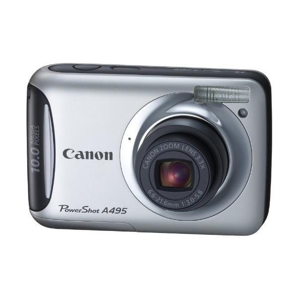 Canon デジタルカメラ PowerShot A495 シルバー PSA495(SL) 中古品 アウトレット