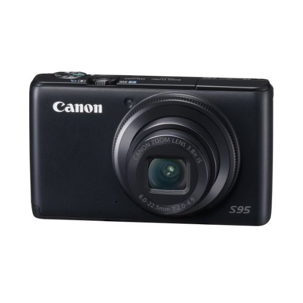 Canon デジタルカメラ Powershot S95 PSS95 1000万画素高感度CCD 光学3.8倍ズーム 広角28mm 3.0型液晶 F2.0 中古品 アウトレット