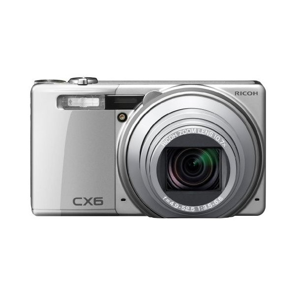 RICOH デジタルカメラ CX6シルバー CX6-SL 中古品 アウトレット