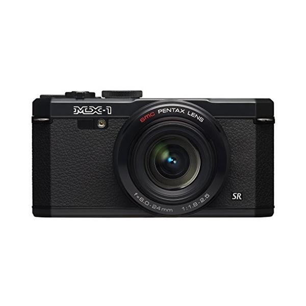 PENTAX デジタルカメラ PENTAX MX-1 クラシックブラック 1/1.7インチ大型CMOSセンサー F1.8大口径レンズ PENTAX MX-1 BK 中古品 アウトレット