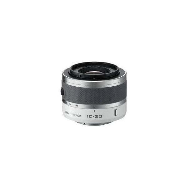 ニコン Nikon 1 NIKKOR (ワンニッコール) VR 10-30mm f/3.5-5.6 ホワイト 1NVR10-30 wh 中古品 アウトレット
