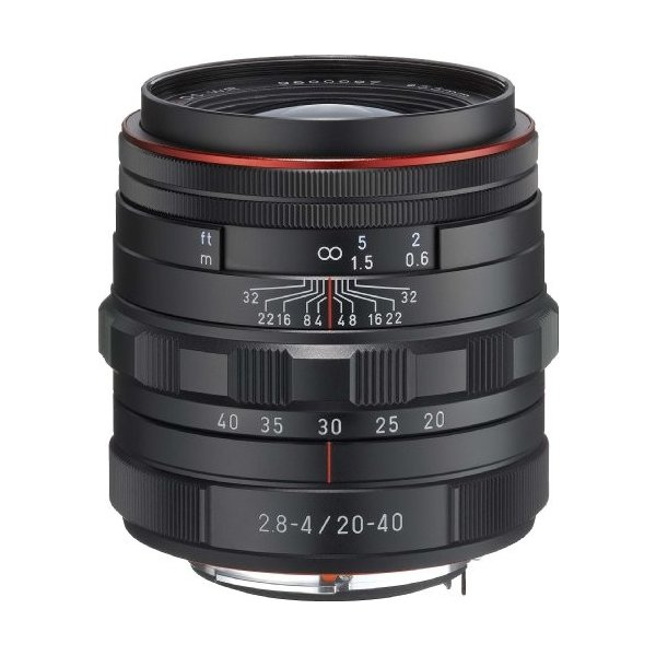 PENTAX リミテッドレンズ 標準ズームレンズ HD PENTAX-DA20-40mm F2.8-4ED Limited DC WR ブラック 23000 中古品 アウトレット