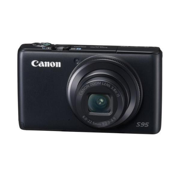 Canon デジタルカメラ Powershot S95 PSS95 1000万画素高感度CCD 光学3.8倍ズーム 広角28mm 3.0型液晶 F2.0 中古商品