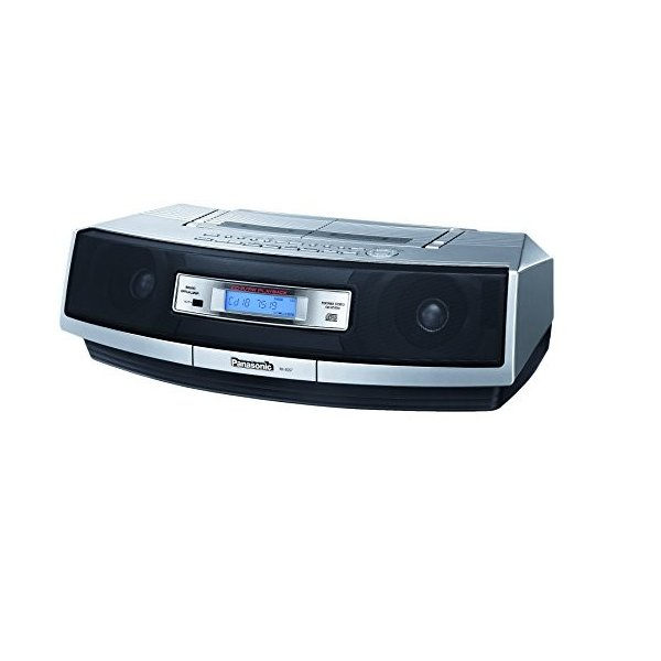 パナソニック CDラジオカセット シルバー RX-ED57-S 中古商品