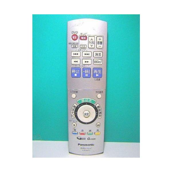 パナソニック DVDリモコン EUR7655Y20 中古品 アウトレット品