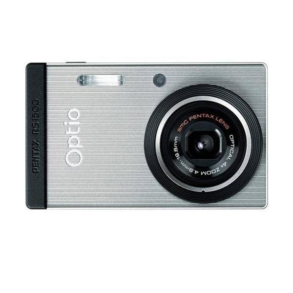PENTAX  Optio RS1500(シルバー) 1400万画素 27.5mm 光学4倍 簡単着せ替え OPTIORS1500SL 商品