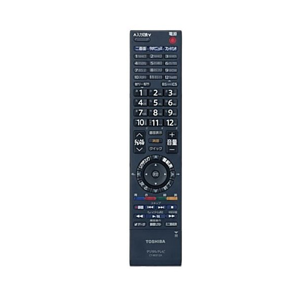 東芝 液晶テレビ用リモコンCT-90312A(75015468) 中古品 アウトレット品