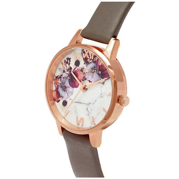 オリビアバートン 時計 腕時計 レディース 30mm 花柄 おしゃれ かわいい おすすめ マーブルフローラル ロンドングレイ&ローズゴールド OB16MF08|zerotwo|02