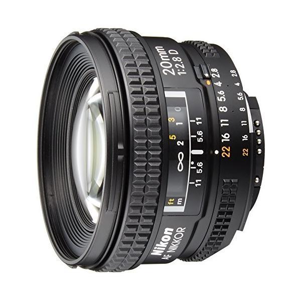 Nikon 単焦点レンズ Ai AF Nikkor 20mm f/2.8D フルサイズ対応 商品