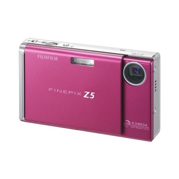 FUJIFILM デジタルカメラ FinePix (ファインピックス) Z5fd ラズベリーレッド FX-Z5FDR 中古商品
