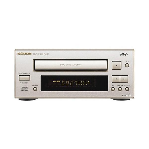 ONKYOINTEC205CDプレーヤーシルバーC-705TX(S)中古商品