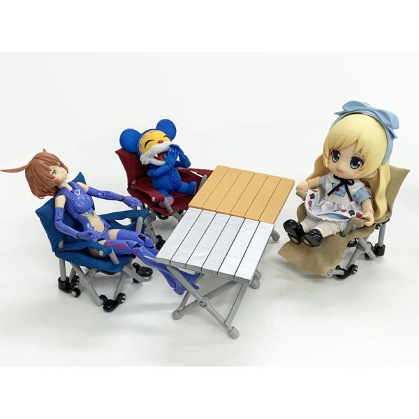 ざ・キャンピングチェア&テーブルマスコット 5種コンプリートセット zeus-japan 02