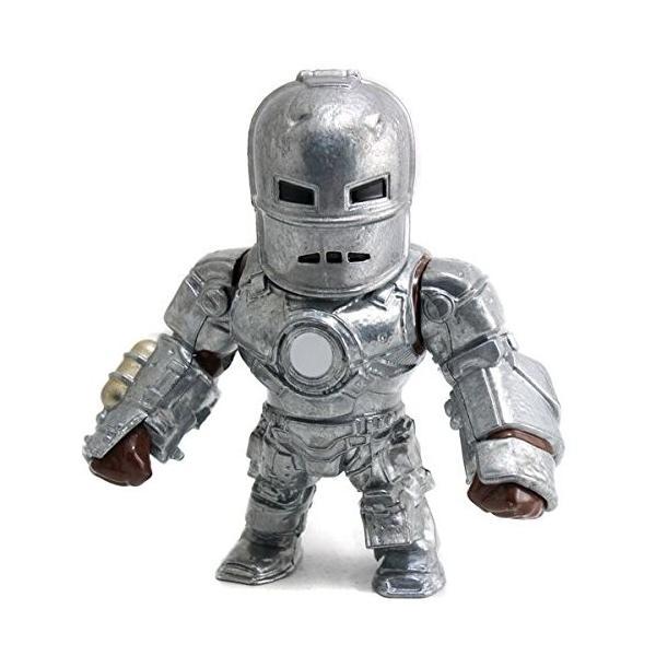 アイアンマン メタルズ ダイキャストフィギュア M62 アイアンマン マーク1 / MARVEL METALS DIE CAST IRON MAN MARK I|zinniasupply