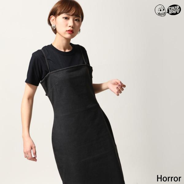 ワンピース ドレス ワンピース 無地 黒 ブラック レディース ウィメンズ CHEAP MONDAY ファッション (0616698)|zip