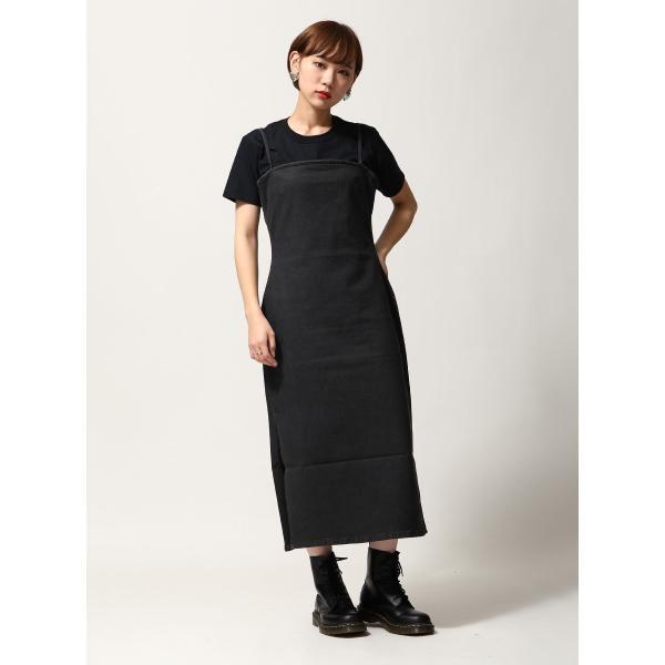 ワンピース ドレス ワンピース 無地 黒 ブラック レディース ウィメンズ CHEAP MONDAY ファッション (0616698)|zip|07
