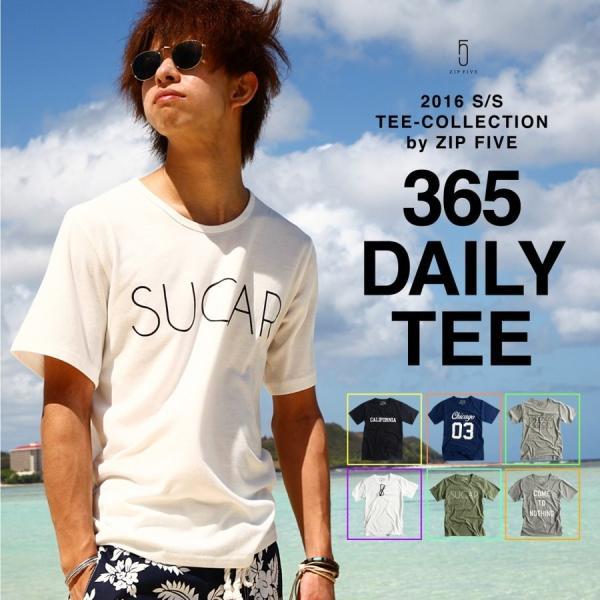 # Tシャツ メンズ クルーネック カットソー 半袖 プリント サーフ ネイティブ インディアン メガネ 細ロゴ  S M L XL おしゃれ ファッション (17002-11nz)|zip