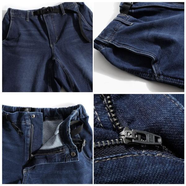 クライミングパンツ メンズ ハーフパンツ チノ デニム スウェットショーツ ショートパンツ イージー 無地 短パン ファッション ポイント消化 (18610)|zip|03