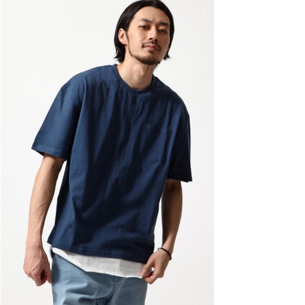 アンサンブル メンズ Tシャツ カットソー タンクトップ ロングタンクトップ レイヤード 無地 ファッション ポイント消化 (19002-11nz)|zip|13