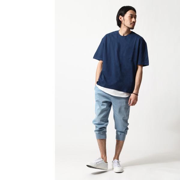 アンサンブル メンズ Tシャツ カットソー タンクトップ ロングタンクトップ レイヤード 無地 ファッション ポイント消化 (19002-11nz)|zip|14