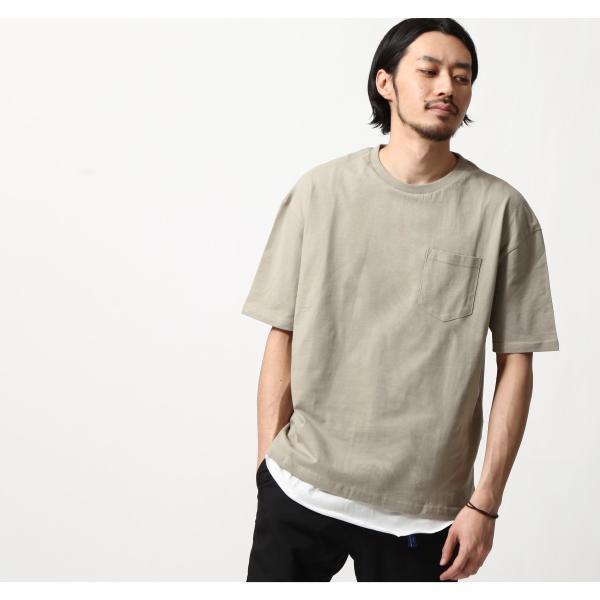 アンサンブル メンズ Tシャツ カットソー タンクトップ ロングタンクトップ レイヤード 無地 ファッション ポイント消化 (19002-11nz)|zip|15