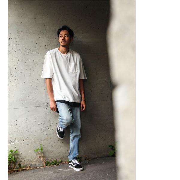 アンサンブル メンズ Tシャツ カットソー タンクトップ ロングタンクトップ レイヤード 無地 ファッション ポイント消化 (19002-11nz)|zip|09